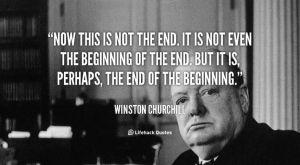 winstonchurchill-beginning